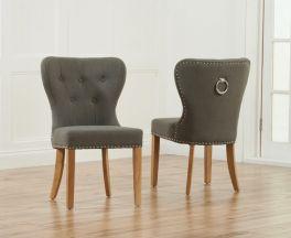 Kalim Grey Dining Chair (Pairs)