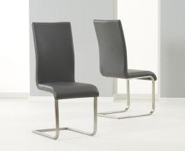 Malibu Grey Dining Chair (Pairs)