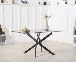 Marina 160cm Glass Dining Table