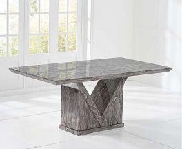 Minsk 160cm Grey Dining Table