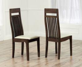 Monte Carlo Dark Cream Chairs (Pairs)
