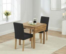 Promo Rectangular Extending Dining Set With Maiya Chairs