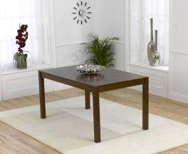 Marbella 150cm Dark Solid Oak Dining Table