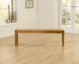Promo Solid Oak Large (135cm) Bench