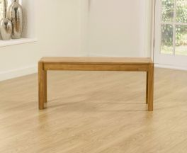Promo Solid Oak Medium (105cm) Bench