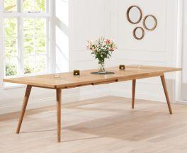 Tribeca 200cm Oak Extending Dining Table