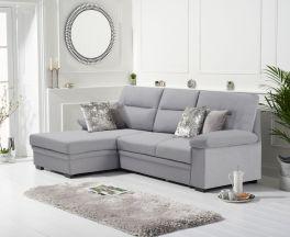 Jennifer Grey Linen Left Hand Facing Corner Sofa Bed