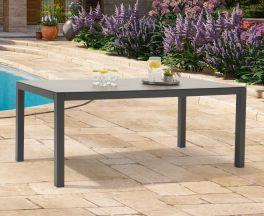 Gerbera 180cm Dark Grey Garden Table