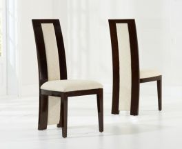 Rivilino Brown Dining Chairs (Pair)