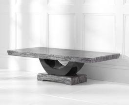 Rivilino Dark Grey Marble Coffee Table