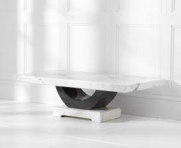 Rivilino White Marble Coffee Table