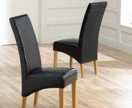 Roma Black Chairs (Pairs)