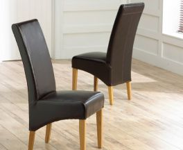 Roma Brown Chair (Pairs)