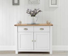 Sandringham Oak & White Medium Sideboard