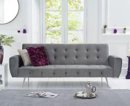 Valentina Grey Fabric Sofa Bed