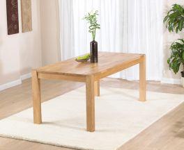 Verona Oak 120cm Dining Table
