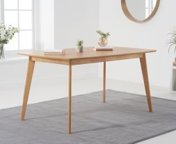 Seth Oak 150cm Dining Table