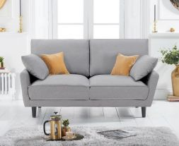 Caracus Grey Linen 2 Seater Sofa