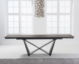 Benjamin 180cm Extending Mink Ceramic Dining Table