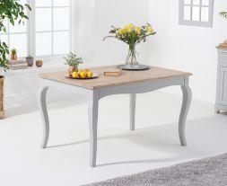 Sienna 130cm Grey Dining Table