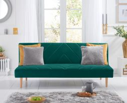 Waltham Green Velvet Sofa Bed