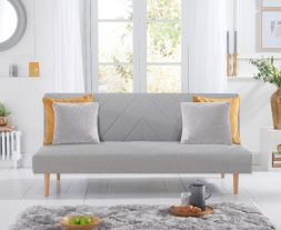 Waltham Grey Linen Sofa Bed