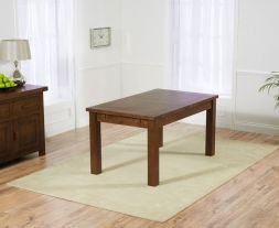 Rustique Dark 150cm Extending Dining Table