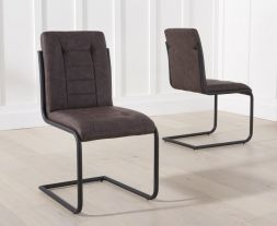 Archie Brown Dining Chairs (Pairs)