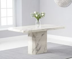 Becca 160cm White Dining Table
