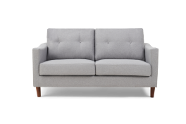 Carrie Grey Linen 2 Seater Sofa