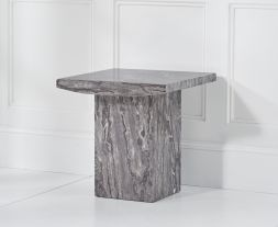 Coruna Grey Lamp Table