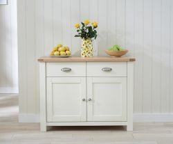 Sandringham Oak & Cream Medium Sideboard