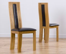 VM - HAVANA/TORONTO/TRENTO BROWN CHAIR (PAIRS) - From old XD code PT29773XD