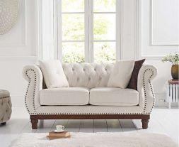 Highgrove Ivory Linen 2 Seater Sofa