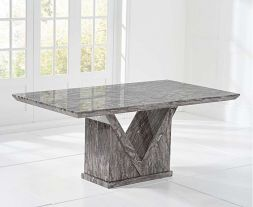 Minsk 160cm Grey Dining Table