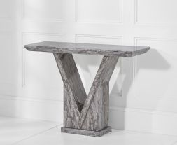 Minsk Grey Console Table
