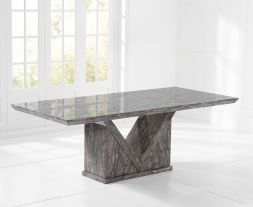Minsk 220cm GREY Dining Table