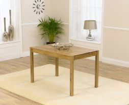 Promo 120cm Solid Oak Dining Table