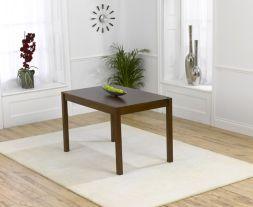 Marbella 120cm Dark Solid Oak Dining Table