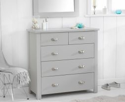 Sandringham Grey 3 + 2 Drawer Chest
