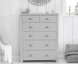 Sandringham Grey 4 + 2 Drawer Chest