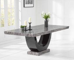 Rivilino Dark Grey 200cm Marble Dining Table