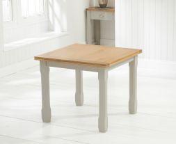Sandringham 90cm Flip Top Oak & Grey Dining Table