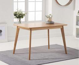 Seth Oak 120cm Ext Dining Table