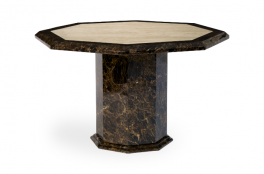 Toledo Octagonal Marble Dining Table